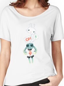 Bunny Doll Women's Relaxed Fit T-Shirt