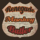 Renegade Monkey Butler by SixPixeldesign
