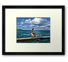 Lauderdale-by-the-Sea, Florida Framed Print
