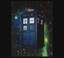 Tardis in Space (from Dr Who) by Marjuned