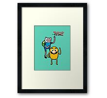 Nintendo Time Framed Print