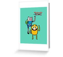 Nintendo Time Greeting Card