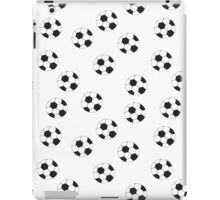 Soccer Ball Pattern iPad Case/Skin