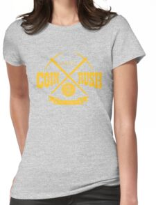 Coin Rush Womens Fitted T-Shirt
