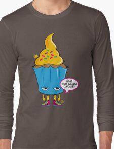 Cupcake with Attitude Long Sleeve T-Shirt