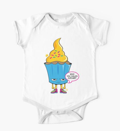 Cupcake with Attitude One Piece - Short Sleeve