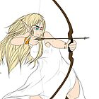 Elven Archer Woman by TeacupThorin