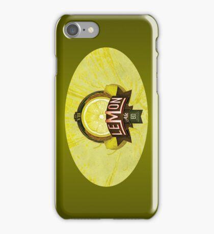 LEMON ALE iPhone Case/Skin