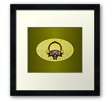 LEMON ALE Framed Print
