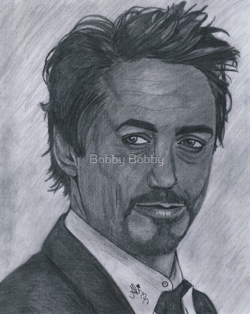 Robert Downey Jr by Bobby Dar