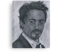 Robert Downey Jr Canvas Print
