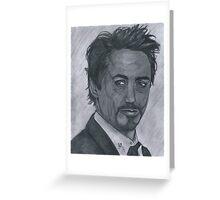 Robert Downey Jr Greeting Card