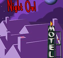 night owl in the city by Tia Knight