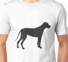 Great Dane Silhouette Unisex T-Shirt