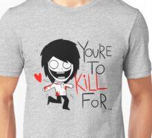Jeff The Killer Loves You Unisex T-Shirt