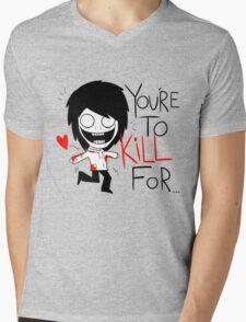 Jeff The Killer Loves You Mens V-Neck T-Shirt