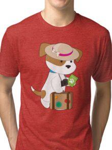 Puppy Travel Tri-blend T-Shirt