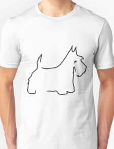 Scottie Lines Unisex T-Shirt