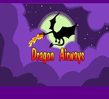 Fly Dragon Airways by Tia Knight