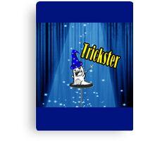 Magic trickster monster Canvas Print