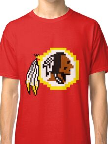8Bit Redskins Tee - Esquire 3nigma Classic T-Shirt