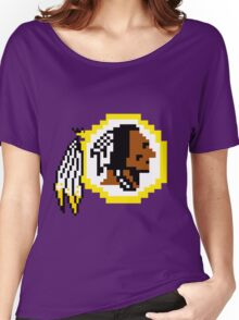 8Bit Redskins Tee - Esquire 3nigma Women's Relaxed Fit T-Shirt