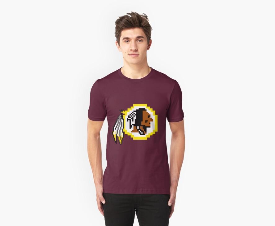 8Bit Redskins Tee - Esquire 3nigma by CrissChords