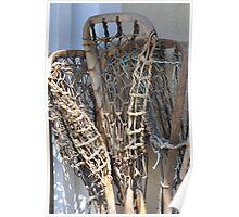 Lacrosse Sticks Poster