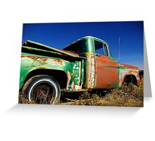 1960 Dodge Pickup Greeting Card
