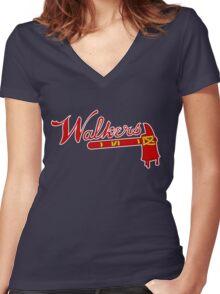 Atlanta Walkers v2 Women's Fitted V-Neck T-Shirt