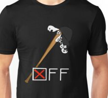 """OFF"" Batter's bat and hat t-shirt Unisex T-Shirt"