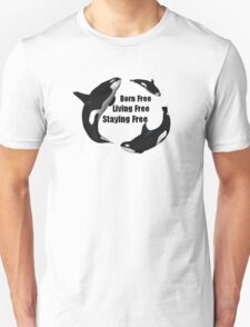 Staying Free Orca T-Shirt