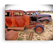 Rusty Pair Canvas Print