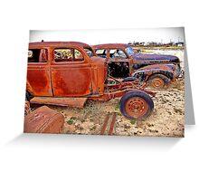 Rusty Pair Greeting Card