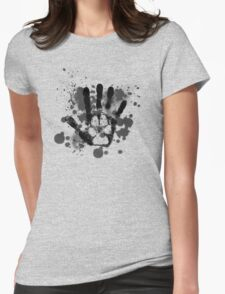 Wolf On the Inside Womens Fitted T-Shirt