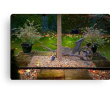Small garden Canvas Print