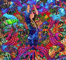 The Mermaid of the Rainbow Reef by Nira Dabush