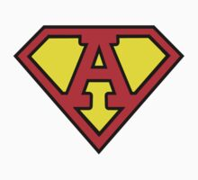 Superman Style Initial Vector (A) by Aaron Pacey
