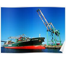 Evergreen Shipping Poster