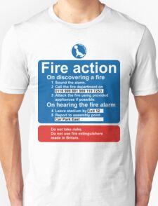Sea Parks Fire Action T-Shirt