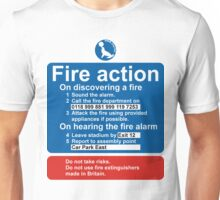 Sea Parks Fire Action Unisex T-Shirt