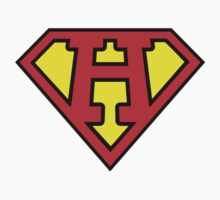 Superman Style Initial Vector (H) by Aaron Pacey