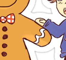 Gingerbread man 1 Sticker