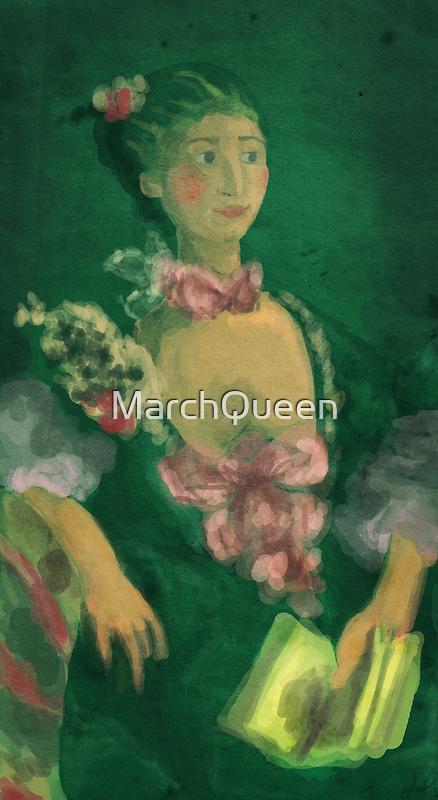 Madame de Pompadour by MarchQueen