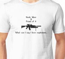 Noob Tuber 2 (black text) Unisex T-Shirt