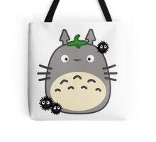 Kawaii Totoro & Susuwatari Tote Bag