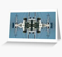 The Diesel Funnels of HMAS Neptune Greeting Card