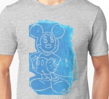 Mr. Mouse in light blue Unisex T-Shirt