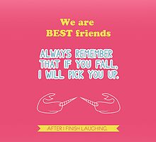 We are best friends by icantdance
