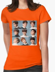 Sing For You - EXO Womens Fitted T-Shirt
